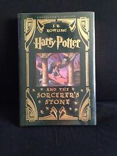 Harry Potter and the Sorcerer's Stone COLLECTOR'S EDITION 1st Edition LEATHER
