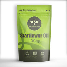 STARFLOWER / BORAGE OIL CAPSULES 1000MG 180 SOFTGELS GLA