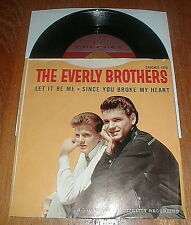 "EVERLY BROTHERS Orig 1959 ""Let It Be Me"" PS & 45 VG++"