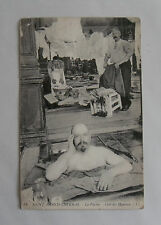 c1910 B/W Photograph. St. Amand Thermal Baths. Man in Pool with Male Attendants