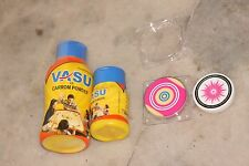 BRAND NEW TOURNAMENT CARROM STRIKER & AND POWDER PAIR GOOD QUALITY  FREE SHIP