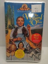 NEW The Wizard of Oz Clam Shell VHS MGM Judy Garland SEALED