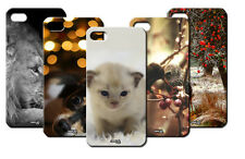 IPM CUSTODIA COVER CASE GATTO LEONE CANE BIRD DEER PER iPHONE 5C