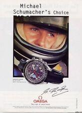 Michael Schumacher  zum ersten Ferrari Sieg 1996 Omega Speedmaster Automatic