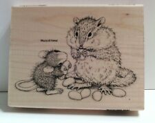 "New! House Mouse ""Chipmunk Treat"" WM Rubber Stamp"