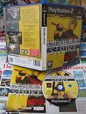Playstation 2 PS2:Deadly Strike [TOP MANGA & 1ERE EDITION] COMPLET - Fr