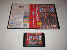 Super Street Fighter II (Sega Genesis) Game Cartridge in Box Excellent!