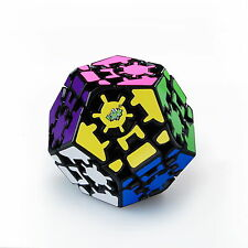 New Lanlan Gear 12-side Dodecahedr Cube Black Magic Cube Puzzle Toy Gift