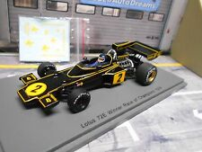 F1 LOTUS Ford 72E 72 E Ford Cosworth #2 Ickx ROC Winner 1974 Spark Resin 1.43