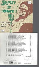 CD--SHOUT IT OUT R&B 1946-54 //VOL 3