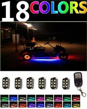 Custom LED Golf Cart Lighting Under Glow Pod Lights Kit for Caddy Club Car EZGO