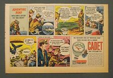 1963 Cadet Speedometer Hikers~Whale Vintage Cartoon Scouts Bicycles Parts Art AD