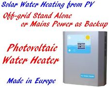 2.0KW Off-grid Stand Alone PV Photovoltaic Solar Hot Water Heating Heater MPPT