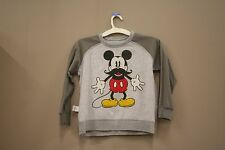 MICKEY MOUSE GRAY WITH LONG SLEEVES T-SHIRT..XTREME..FOR KIDS..SIZE:LARGE.. A.D.