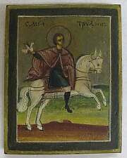 Russian Icon of Saint Trifon