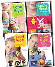 New Magic Loom Rubber Band Bracelet 4 Books Set 100 projects Collection Rainbow