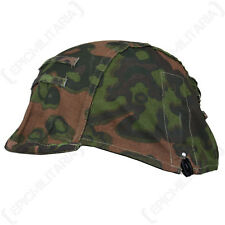 Oakleaf Camo Helmet Cover - Repro WW2 German Military Army Soldier Uniform Hat