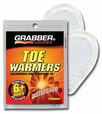 Grabber Toe Warmers, 10 Pairs(Packs) Adhesive, 6+ Hours, Air Activated #TWES