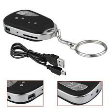 Car Key Mini DV DVR 720P Digital Chain Spy Hidden Camera Webcam Camcorder Video