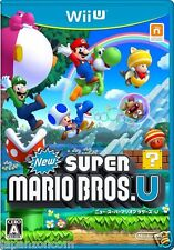 New Super Mario Bros. U NINTENDO WII U JAPANESE NEW JAPANZON