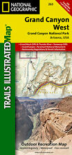 Trails Illustrated Grand Canyon West Trail Map