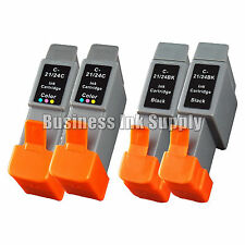 4 PK Ink BCI 24 for CANON i475D S200 S300 MP F20 M130