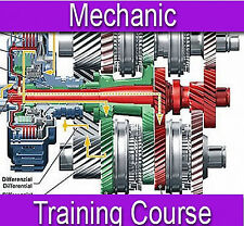 Mechanic Vehicle Car Repair Training Course Manual Book