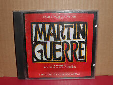 Martin Guerre - London Cast Recording CD VG+ Condition RARE