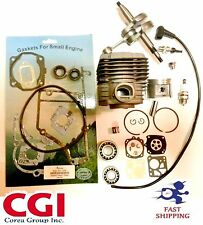 stihl ts400 cylinder kit Complete overhaul+ crankshaft+ gasket set+ bearing set