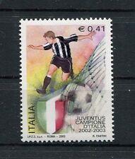 Italia 2003 Juventus campione d'Italia 2002/03  Mnh