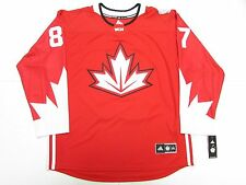 SIDNEY CROSBY TEAM CANADA RED WORLD CUP OF HOCKEY ADIDAS JERSEY SIZE 2XL
