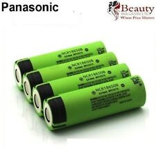 4 X Batería Recargable Genuina Panasonic 18650 3400mAh NCR18650B Li-Ion UK