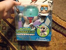 Vtg 2000 Cartoon Network Dexter's Laboratory SUPER ROBOT Toy NEW in Box RARE
