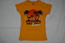 WE THE KINGS BEACH LADIES SKINNY T SHIRT SMALL NEW SUNSHINE STATE OF MIND DEMI