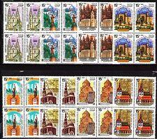 Russia 1990 Sc5912-19  Mi6108-15  8 blocks  mnh  Historic Architecture-Religion
