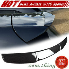 """""""SHIP OUT TODAY"""" Carbon Mercedes BENZ A-Class W176 Hatchback D Type Roof Spoiler"""