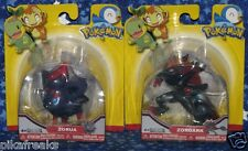 Zorua and Zoroark Pokemon Action Figure Set by Jakks Pacific New MISP USA Seller