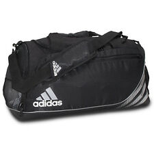adidas Team Speed Training DUFFEL Bag GYM Fitness Soccer Travel Brand New BLACK