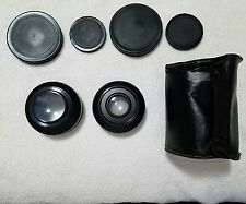 (2) Coastar Aux. Wide Angle Lens Se.VII w/Case & Len Covers (Used)