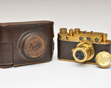 FED COPY - LEICA CAMERA mit Objektiv Carl Zeiss Jena russische FED umbau GOLD