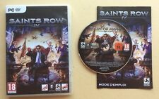 Jeu PC SAINTS ROW IV 4