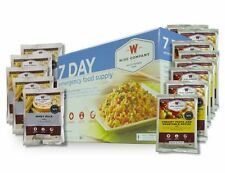 Wise 7 Day Emergency Food Supply ~ 25-Yr Shelf Life Survival Camping Meals