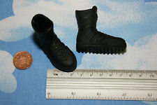 BBI 1/6TH SCALE MODERN SWAT BLACK BOOTS CB21482