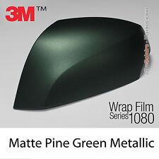 10x20cm LÁMINA Mate Pine Verde Metálico 3M 1080 M206 Vinilo Total CUBIERTA