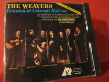 "APFCD 005 THE WEAVERS "" REUNION AT CARNEGIE HALL 1963 "" (ANALOGE GOLD-CD/SEALED)"