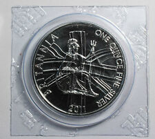 2011 1oz Silver Britannia, Uncirculated