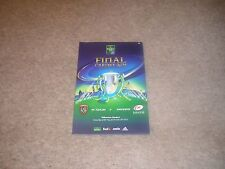 Heineken Cup Final 2014 RC Toulon v Saracens Official Programme.