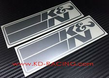 K&N Sticker Decals Air Filter FREE SHIPPING x 2
