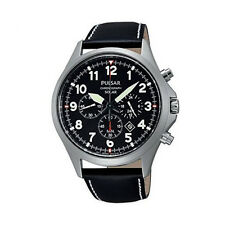 NEW Pulsar PX5007 Solar Powered Chronograph Watch UK Seller
