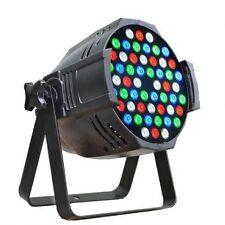 Faro Luce Stroboscopica Effetti luci Par LED 54x3W RGBW 8CH DMX Strobo